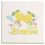 Napkin  Limona white small
