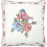 Cushion Cover Ellie white embroidery