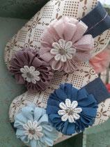 Stirnband mit Doppelblüte