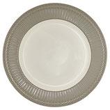 Dinner Plate Alice grey