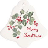 Magnet Merry Christmas white Set(Vorbestellung Lieferung ab KW32)