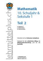 Math Sek 1, Teil 2, inkl. Lösungen