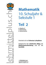 Math 10/Sek 1, Teil 2