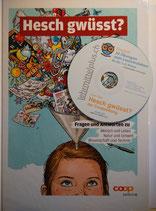 """Buch """"Hesch gwüsst?"""" und die Arbeitsblätter auf einer CD"""