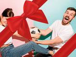 Gutschein Girls vs. Guys - Das ideale Geschenk