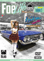 Foe Life Magazine for DVD vol.3 ~LOWRIDER CAR SHOW 2016 JAPAN in MAKUHARI~【2枚組】