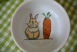 "Keramiknapf ""Rabbit & carrot"""