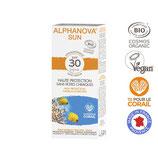 Alphanova bio Sonnencreme hypoallergen fürs Gesicht für sensible Haut