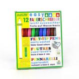 Ökonorm easy Faserschreiber 2mm, leicht auswaschbar - 12 Farben
