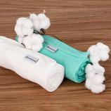 Neu: Bamboolik Mullwindel Bio-Baumwolle im 2er Pack