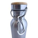Avo&Cado Edelstahl-Trinkflasche mit Henkel 750ml