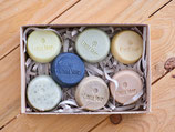 Circle Soaps - the sample collection
