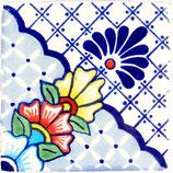 """Mexikanische Fliese """"Nevado"""" (10x10) #1012"""