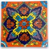 "Mexikanische Fliese ""Papalote Color"" (5x5) #2002"
