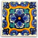"Mexikanische Fliese ""Joya Azul"" (5x5) #2006"