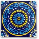 """Mexikanische Fliese """"Oceano Azul"""" (5x5) #2004"""