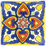 "Mexikanische Fliese ""Vennesia"" (10x10) #1015"