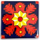 "Mexikanische Fliese ""Estrella de la Tarde"" (5x5) #2014"
