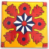 "Mexikanische Fliese ""Estrella Matutina"" (10x10) #1028"