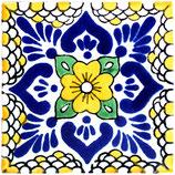 """Mexikanische Fliese """"Lluvia Mostaza"""" (10x10) #1013"""