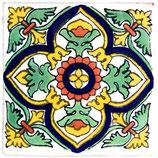 "Mexikanische Fliese ""Yuridia"" (10x10) #1014"