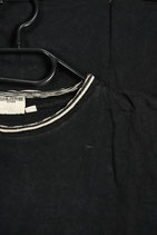 Schwarzes T-Shirt mit Aufdruck/Black T-Shirt with print (Grösse/Size L)