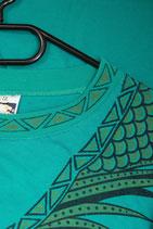 T-Shirt mit Ananasmuster/with ananas pattern (Grösse/Size XXL)