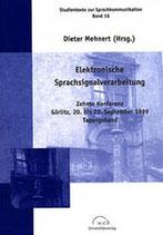 16: Elektronische Sprachsignalverarbeitung
