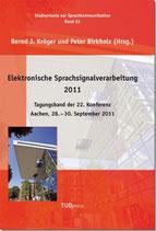61: Elektronische Sprachsignalverarbeitung 2011