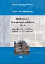 78: Elektronische Sprachsignalverarbeitung 2015