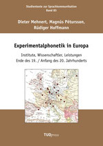 85: Experimentalphonetik in Europa