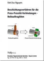 Beschichtungsverfahren für die Press-Presslöt-Verbindungen - Reibauftraglöten