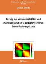 91: Beitrag zur Variablenselektion und Mustererkennung bei zeitveränderlichen Transmissionsspektren