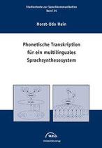 34: Phonetische Transkription für ein multilinguales Sprachsynthesesystem