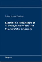 Experimental Investigations of Thermodynamic Properties of Organometallic Compounds