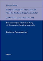 16 - Recht und Praxis der internationalen Handelsschiedsgerichtsbarkeit in Indien
