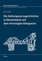 8 - Die Zahlungsverzugsrichtlinie in Deutschland und dem Vereinigten Königreich