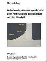Verhalten der Aluminiumoxidschicht beim Aufheizen und deren Einfluss auf die Lötbarkeit