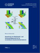 18: Gestaltung von Radialspalt- und Seitenwandgeometrien an verstellbaren Axialverdichterstatoren