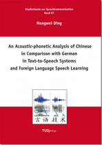 67: An Acoustic-phonetic Analysis of Chinese in Comparison with German in Text-to-Speech Systems and Foreign Language Speech LearningProduktname