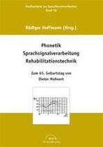 18: Phonetik - Sprachsignalverarbeitung - Rehabilitationstechnik