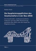 5 - Die Hauptleistungspflichten des Gesellschafters in der Bau-ARGE