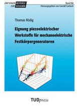 53: Eignung piezoelektrischer Werkstoffe für mechanoelektrische Festkörpergeneratoren