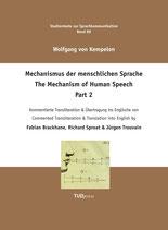 88: Mechanismus der menschlichen Sprache 2