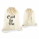 """Beutel """"C'est la Vie"""""""