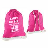 """Beutel """"Läuft"""""""