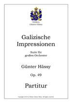 Galizische Impressionen, op. 49