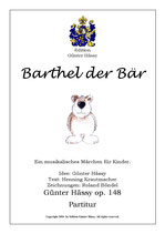 Barthel der Bär, op. 148