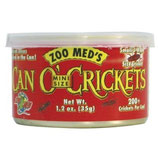 Zoo Med Can O' Crickets Mini Size (35 gr/ 200 St.) x3