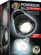 Zoo Med PowerSun Combo Hid Lamp & Fixture